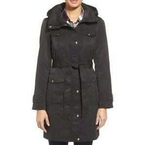 Nordstrom Trench Coat, Rain Jacket, Small Petite